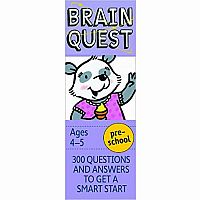 Brain Quest Ages 4-5 Preschool