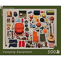 Camping Equipment 500 Piece Puzzle