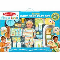 Deluxe Baby Care Play Set Mine To Love