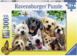 Delighted Dogs 300 pc. puzzle