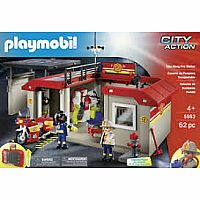 Playmobil City Action Take Along Fire Station