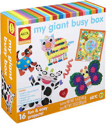 Giant Busy Box of Crafts