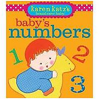 Baby's Numbers Board Book