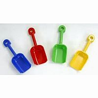 "Large Sand Shovel 10"" Please indicate colors in customer notes. Colors available: red, blue, yellow, green"