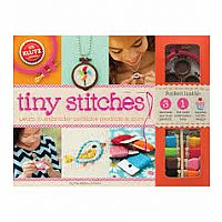 Tiny Stitches embroidery kit
