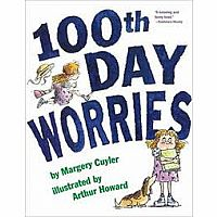 100th day worries hardcover book